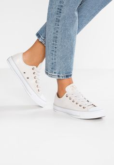 cf17ade6599 CHUCK TAYLOR ALL STAR - Sneakers laag - pale putty white mouse   Zalando.nl  🛒