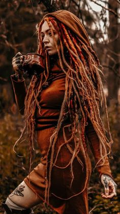 SHE'S SO FINE. 💀🐺👀 Pelo Rasta, Dreads Girl, Dreadlock Hairstyles, Foto Art, Fantasy Girl, Inked Girls, Girl Tattoos, Redheads, Character Inspiration