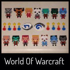 World Of Warcraft in Hama Mini beads