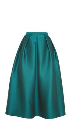 Emerald green long skirt, a must have for any closet!!!