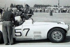 1953. Winning Cunningham C4-R and crew.