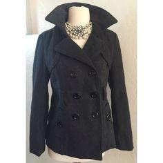 Dark Grey Pea Coat