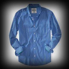 エアロポステール メンズ シャツ Aeropostale Long Sleeve Striped Woven Shirt シャツ-アバクロ 通販 ショップ-【I.T.SHOP】 #ITShop