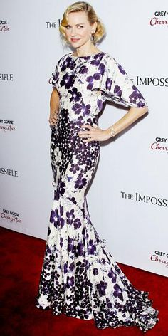 Naomi Watts's Best Red Carpet Looks - In Zac Posen, 2012 from #InStyle