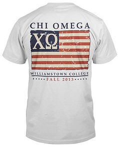 Cool shirt idea for Gameday AND I was a Chi O - - Chi Omega T-shirts by Metrogreek, via Flickr