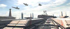 Coruscant cruiser staging area - Wookieepedia - Wikia