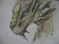 dragon drawing, amazing job