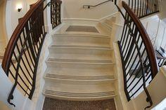 Epoxy Precast Terrazzo Stair Treads And Riser Combos Www.terrazzco.com # Staircase #