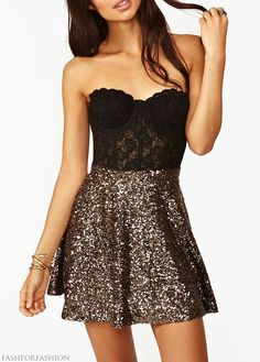 lace anddd sequins <3