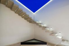 Amazing stairs on the rooftop. The architect who projected them is brilliant!