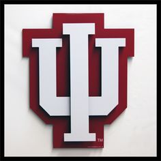 Standard Indiana University Logo: high cognitive effort & virtual domain. For anyone who is familiar with this logo it would require low cognitive effort; however, if someone did not recognize the symbol it could take some more consideration to make it clear.