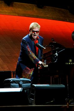 Elton John at Miami's American Airlines Arena