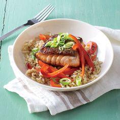 Teriyaki Salmon Rice