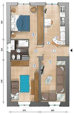 progetto bagno piccolo con lavatrice - cerca con google | bathroom ... - Cucina E Soggiorno Unico Ambiente Piccolo