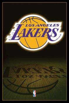 NBA Los Angeles Lakers Logo - plakat