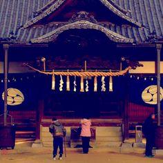 初詣  first shrine visit of New Year