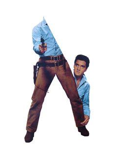 Elvis Presley / collage