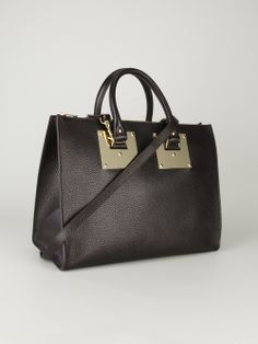 SOPHIE HULME - structured bowling bag   #sophiehulme #sophiehulmebags #bags #totebags #shoulderbags