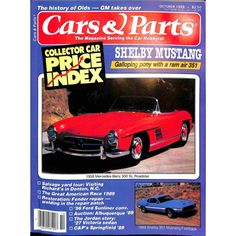 Cover Print of Cars and Parts, October 1989 | $8.80