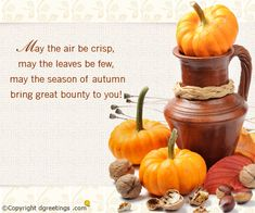 Happy Autumn.