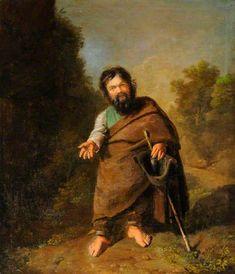 """Baicco, el enano romano (""""Baicco, the Roman Dwarf""""). Philip Wickstead. 178? Localización: Burton Constable Hall, East Riding of Yorkshire, England. https://painthealth.wordpress.com/2016/05/05/baicco-el-enano-romano/"""