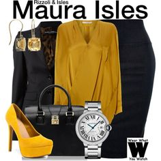Inspired by Sasha Alexander as Maura Isles on Rizzoli and Isles.