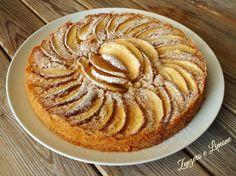 torta di mele all'acqua - intera