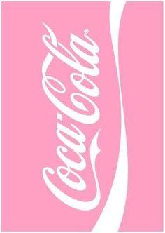 Pink coca-cola