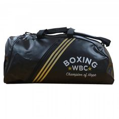 2bed655780e Adidas PU 2 in 1 WBC Boxing Holdall