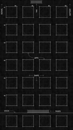 Best blueprint wallpapers for iphone 8 iphone 8 plus and iphone se iphone6 wallpapers wall papers tapestries backgrounds wall decal wallpaper malvernweather Gallery