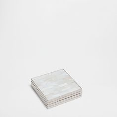 Mother-of-Pearl and Zinc Coaster (Set of Zara Home Collection, France, Coaster Set, Home Accessories, Latest Fashion, United Kingdom, Pearls, Tea, Coffee