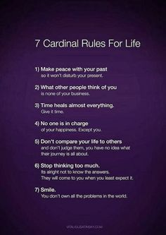 Google+ Rules for Life