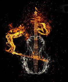 fire and water; playing the cello