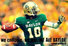 we are baylor.