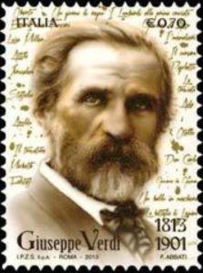 Musicians and Composers on stamps: Giuseppe Fortunino Francesco Verdi ( 1813 – Stamp celebrating Verdi birthday! Romantic Period Music, Classical Music Composers, Best Love Songs, Commemorative Stamps, Rare Stamps, Postage Stamp Art, Penny Black, Stamp Collecting, Musical