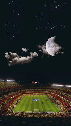 Soccer Stadium, Football Stadiums, Sport Football, Soccer Sports, Football Art, Soccer Couples, Fcb Barcelona, Barcelona Soccer, Soccer Backgrounds