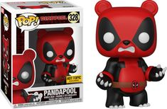 Funko Pandapool (Hot Topic Exclusive): Deadpool x POP! Deadpool Funko Pop, Funko Pop Marvel, Best Funko Pop, Funko Pop Anime, Funko Pop Dolls, Funk Pop, Funko Figures, Pop Toys, Pop Characters