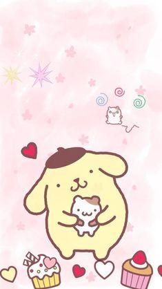Sanrio Wallpaper, Kitty Wallpaper, Kawaii Wallpaper, Animes Wallpapers, Cute Wallpapers, Cellphone Wallpaper, Iphone Wallpaper, Kindergarten Art Projects, Fanarts Anime