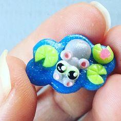 Fimo: Hippo Baby; Kawaii!