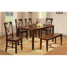 Found it at Joss & Main - Kelvin 6-Piece Dining Set solid wood