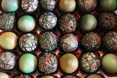 Camo cake balls