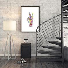 Nå kan du kjøpe denne flotte plakaten i nettbutikken Gallerome.com. Laget av flinkingene i @2019.no