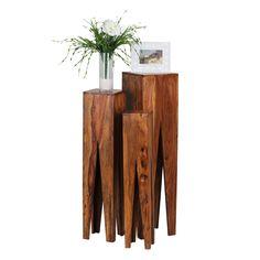 design esstisch sheesham massivholz 160 - 240 cm ausziehbar, Esszimmer dekoo
