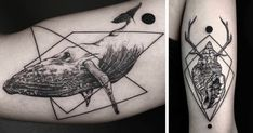Geometric Tattoos By Turkish Artist Okan Uçkun | Bored Panda