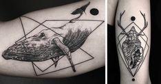 Geometric Tattoos By Turkish Artist Okan Uçkun | Bored Panda