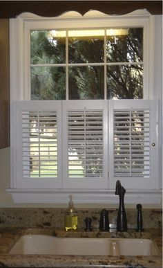 Cafe style shutter for your kitchen.