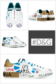 4b2459a9bb Dolce & Gabbana's latest Portofino sneakers embody the Italian design  duo's exquisite craftsmanship with striking