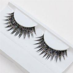 520d7e8246c a pair of loaded nightclub makeup exaggerated fashion glitter, fake  eyelashes false eyelashes China Fashion