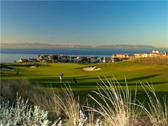The breathtaking golf course at the Terranea Resort in Rancho Palos Verdes, CA was designed by Todd Eckenrode of Origins Golf Design.