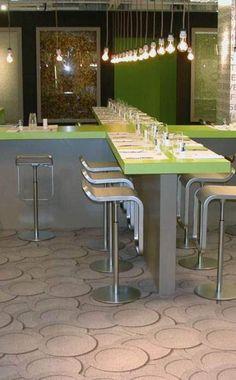 Un Effet 3D Pour La Moquette 4120 Galerie De TecSOM Specialement Imprimee Restaurant